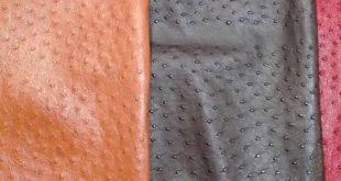 انواع چرم شترمرغ طبیعی